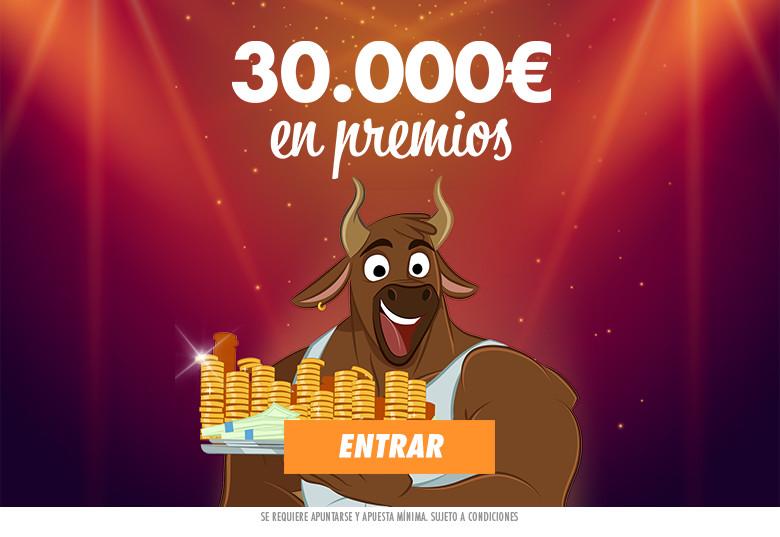 30000€ en premios Canal Bingo