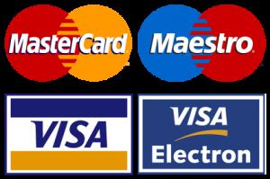 pagar con tarjeta de credito o debito