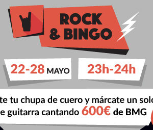 rock and bingo tombola