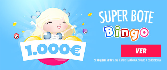 superbote canal bingo 1000€