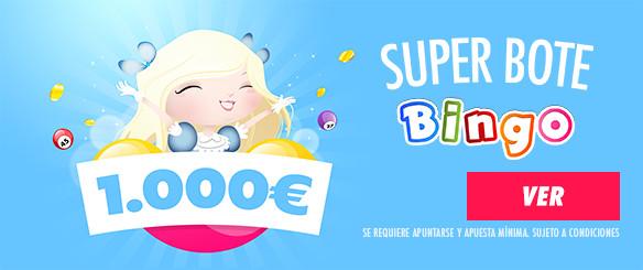 superbote canal bingo 1000€