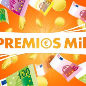 1000 euros en premios botemania