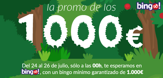 promocion 1000 euros en tombola