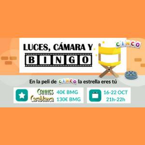 luces, cámara y bingo